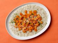 Healthy Oat Risotto with Roasted Butternut Squash