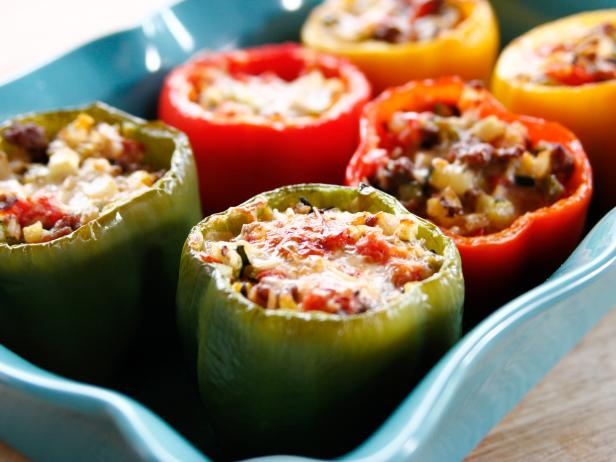 How To Make Stuffed Peppers Stuffed Peppers Recipe Ree Drummond Food Network