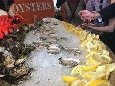 Hear from executive chef Josh Capon about the ins and outs of oyster shucking and slurping.