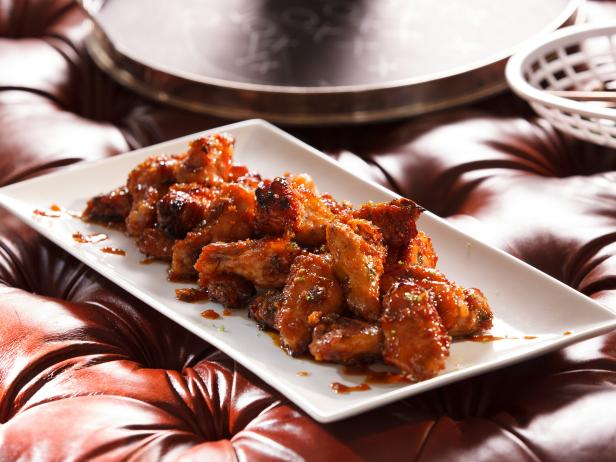 Honey Garlic Chicken Wings Recipe Food Network