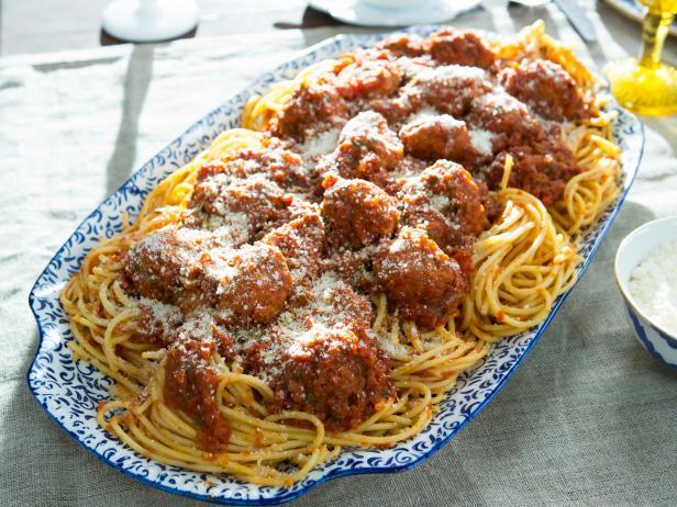 Meatball Pasta Recipe Food Network