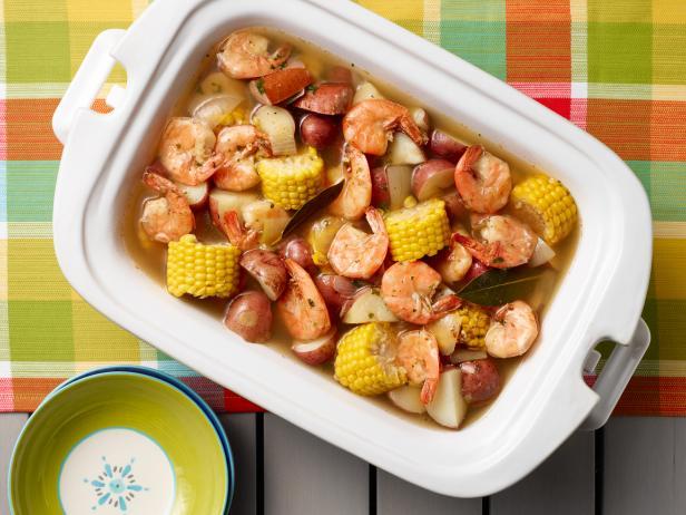 Slow cooker shrimp boil recipe food network kitchen food network slow cooker shrimp boil forumfinder Gallery