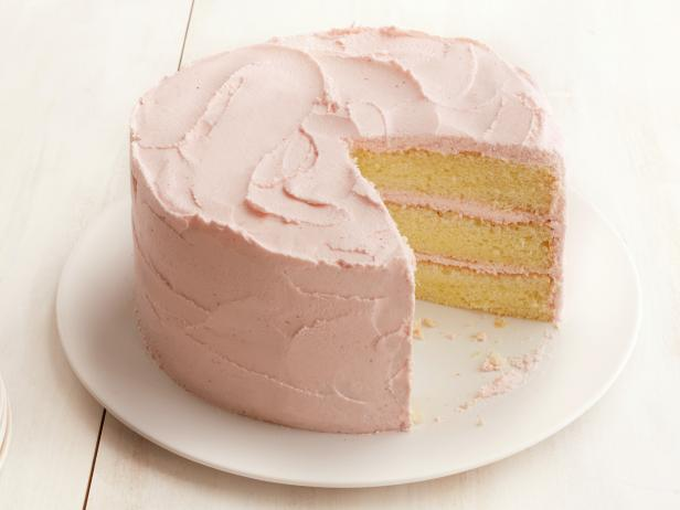 Lemon Cake With Lemon Frosting Recipe