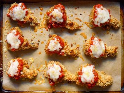 Sunny S Chicken Parm Mini Meatloaf Recipe Sunny Anderson