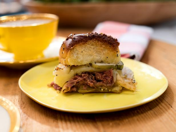 Baked Roast Beef and Provolone