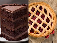 Vote in a pair of polls to tell us what you think is the best part of cake and of pie.
