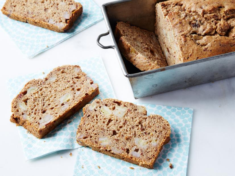 Fruit sweetened banana bread recipe food network kitchen food fruit sweetened banana bread recipe food network kitchen food network forumfinder Image collections