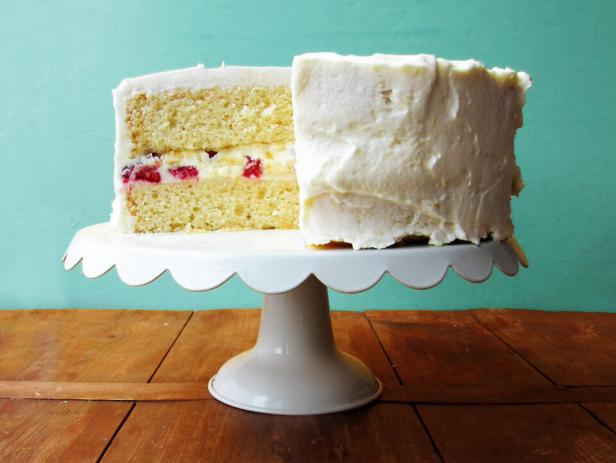 Lemon Layer Cake with Lemon Cream Filling and Frosting Recipe