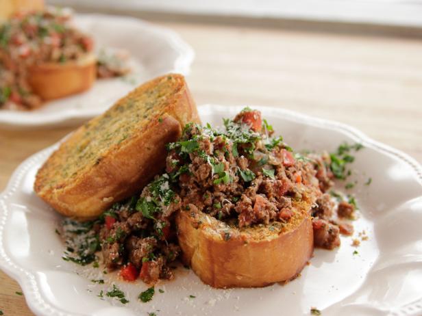 Italian sloppy joes recipe ree drummond food network italian sloppy joes forumfinder Choice Image
