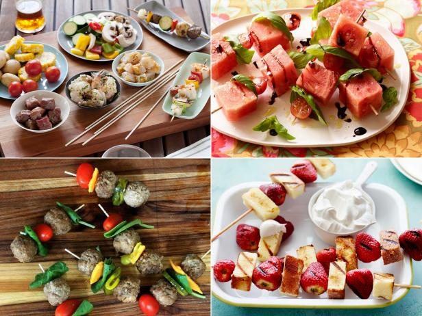 Skewer mania 15 summer recipes for food on a stick fn dish nothing says summer quite like food on a stick and from simple starters to lunch ideas and hearty main dishes every one of these mouthwatering recipes forumfinder Choice Image