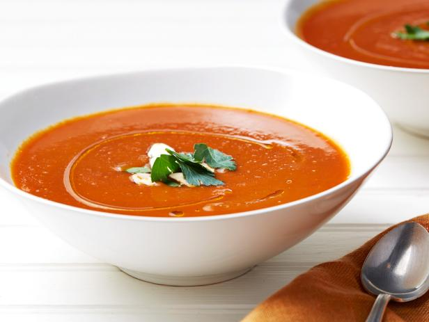 Bell Pepper and Tomato Soup
