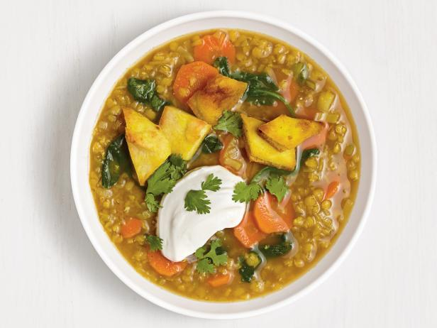 Curried Lentil-Vegetable Soup