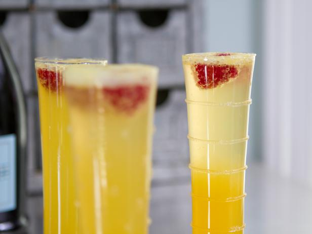 Orange-Peach Prosecco Cocktail