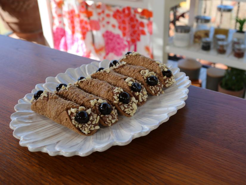 Chocolate Almond Mousse Cannoli Recipe Giada De
