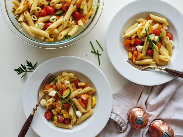 One Recipe, Two Meals: Summery Pasta Salad