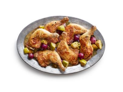 Apple Cider Chicken Recipe Sunny Anderson Food Network