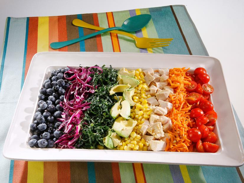Rainbow Chicken Salad Recipe Food Network
