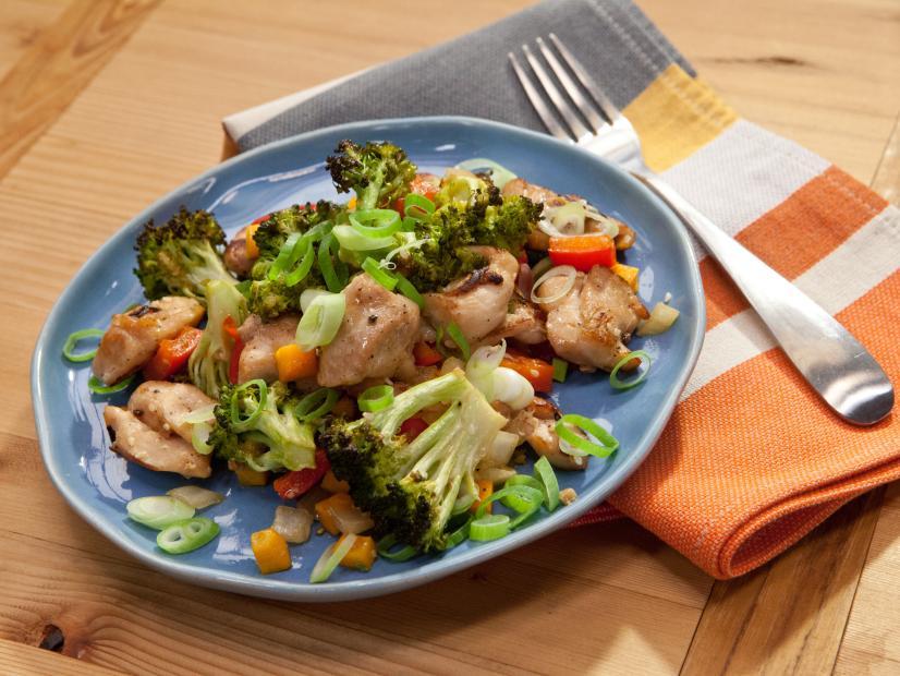 Chicken Stir Fry Cheat Sheet Recipe Geoffrey Zakarian Food Network