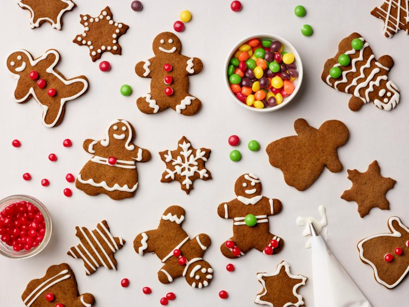Spicy Gingerbread Cookies Recipe Food Network Recipe Food Network Kitchen Food Network