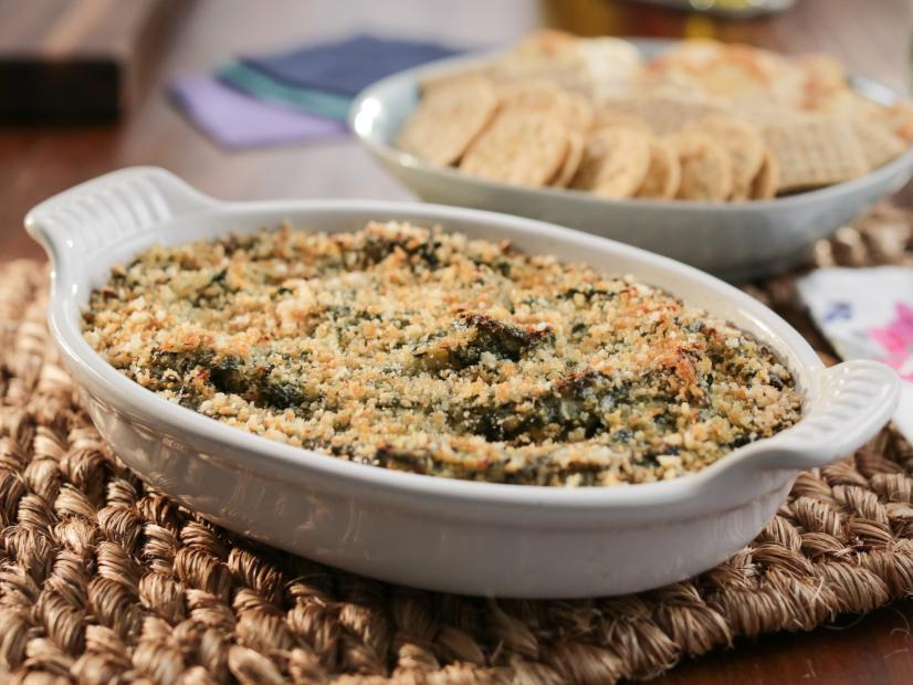Hot Spinach And Crab Dip Recipe Valerie Bertinelli Food Network