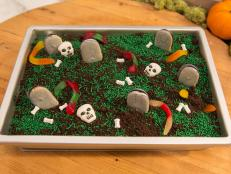 Halloween is the perfect time for one of The Kitchen's Piece of Cake Parties! We've got 3 super simple party ideas that'll scare your ghouls and goblins away. Some of the best tricks come together with very little planning, so try these tricks and spook out the crowd!