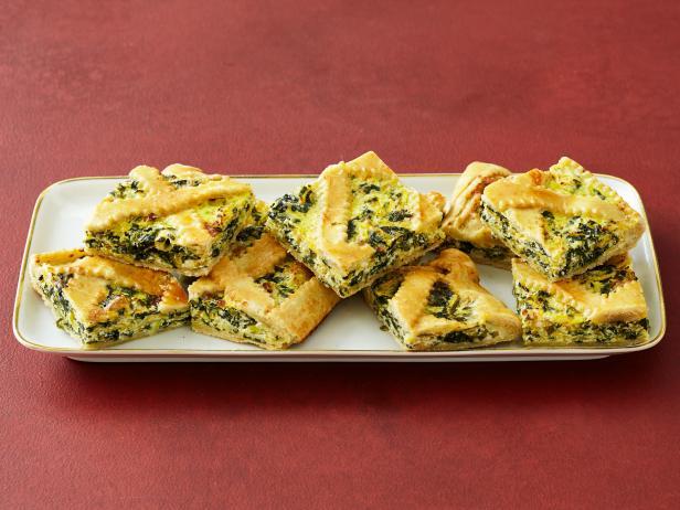 Butternut Squash-Spinach Tart