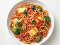 Spicy Tofu and Vegetable Lo Mein