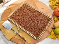 Lemon Pecan Slab Pie