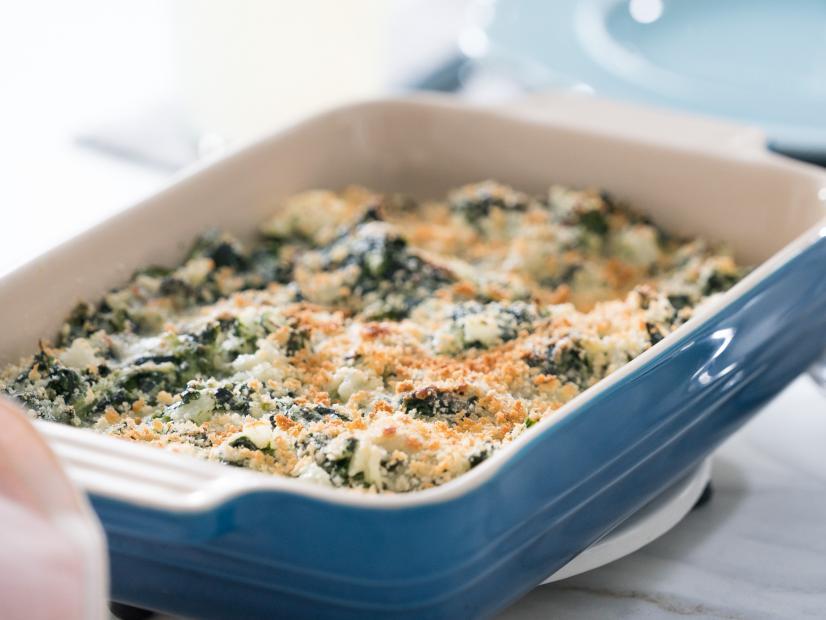 Creamed Spinach Casserole Recipe Trisha Yearwood Food Network