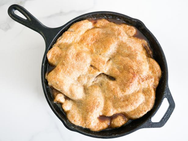 Peach and Brown Butter Skillet Pie