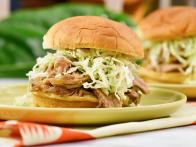 Slow-Cooker Hawaiian Pulled Pork Sandwiches