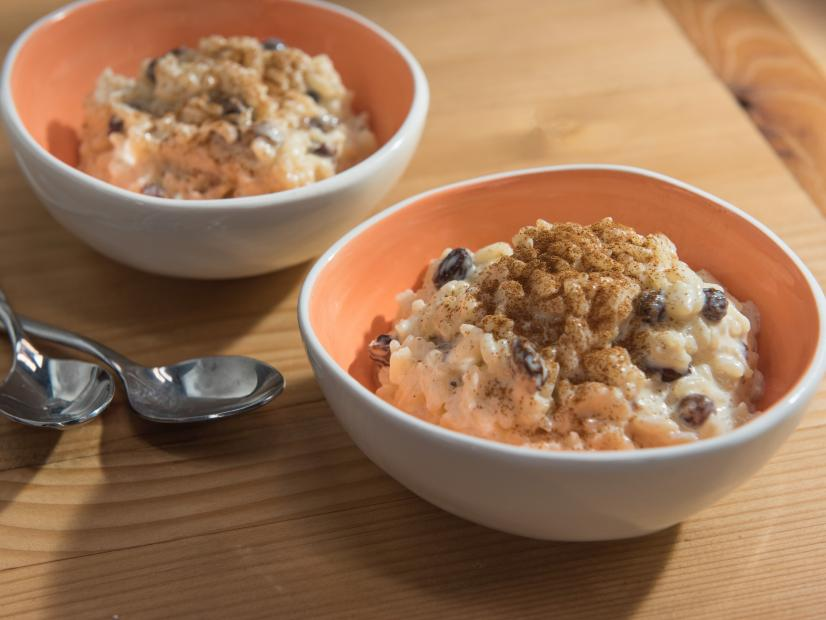 Quick And Easy Rice Pudding Recipe Food Network