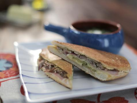 Cuban Sandwich with Slow-Cooker Pulled Pork