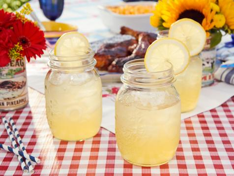 Boozy Hard Peach Lemonade