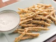 Jalapeno Fries with Roasted Garlic Ranch