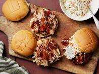 Instant Pot Barbecue Pulled Pork Sandwiches