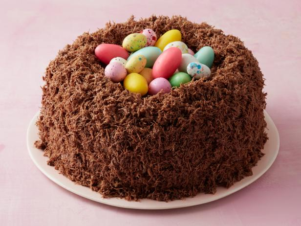Chocolate Malt Nest Cake