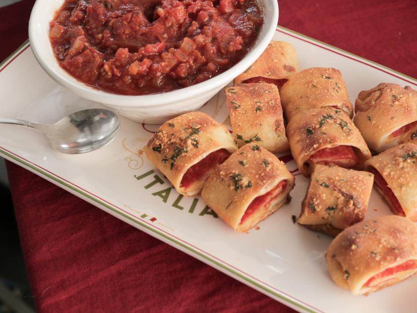 Pepperoni Pizza Bites With Homemade Marinara Sauce Recipe Valerie