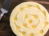 Lemon Cheesecake with Lemon-Rosemary Shortbread Crust
