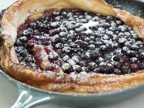 Dutch Baby with Blueberry-Orange Compote