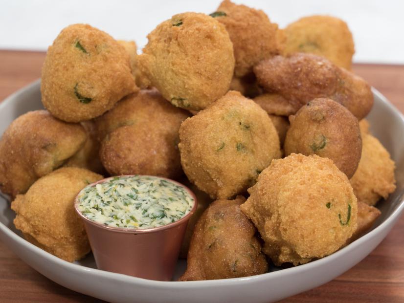 Hush Puppies Recipe Ayesha Curry Food Network