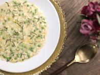 Pea and Mint Risotto