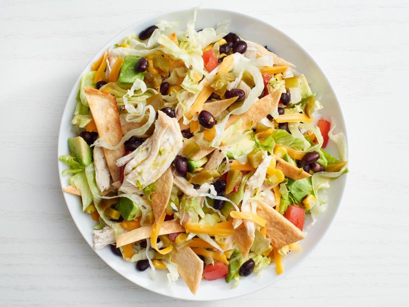 Chicken taco salad recipe food network kitchen food network forumfinder Choice Image