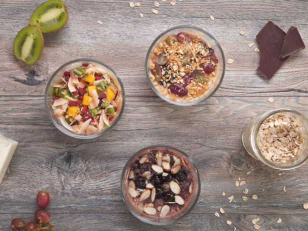 Perfect Overnight Oats Three Ways