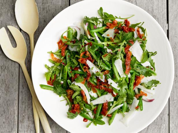Sugar Snap Pea Salad with Prosciutto