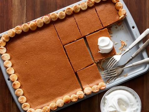 Pumpkin Pie in a Sheet Pan