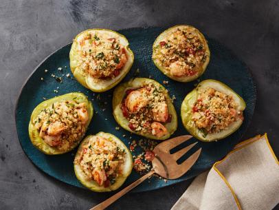 Shrimp Stuffed Mirliton Recipe Paula Deen Food Network