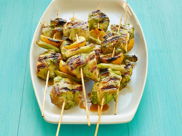 Grilled Chicken Kebabs Food Network Magazine