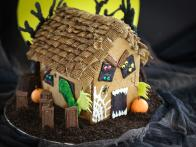 Haunted Gingerbread House Templates
