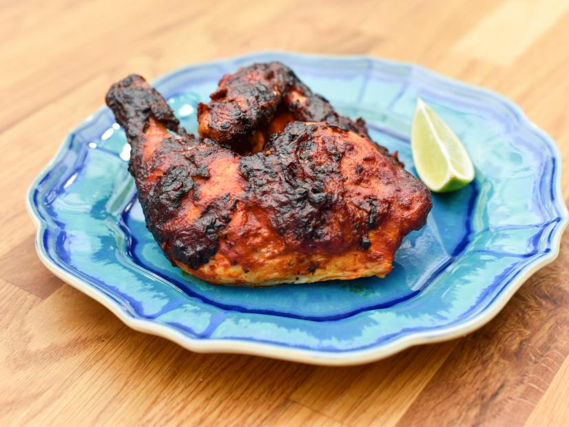 Grilled Adobo Rubbed Chicken Recipe Marcela Valladolid Food Network
